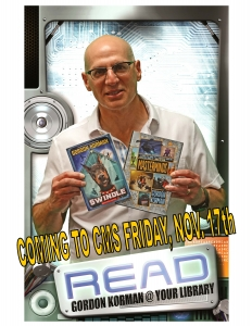 Gordon Korman READ poster