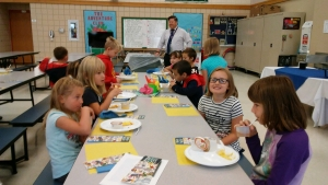 Peifer's Summer Reading Challenge Breakfast! Great job students. Keep on reading!