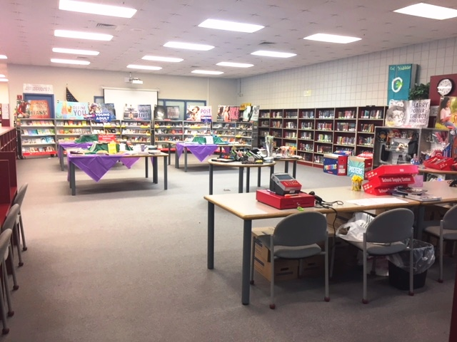 The Scholastic Book Fair was held in the library October 15-19. The two most popular books were Grenade by Alan Gratz and The Collector by K.R. Alexander. I'd like to thank staff members who volunteered a little bit of their time to help out in the book fair: Ms. Loies, Mrs. Doherty, Mrs. Vroom, Ms. Herald and Mrs. Hupp. I'd also like to thank my wonderful parent volunteers: Jen Falli, Melissa Szatkowski and Melissa Rippe. With total sales more than $7,500, it takes a village to run a successful book fair!