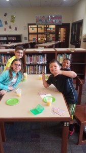 Congratulations to these 2nd, 3rd, and 4th grade students for earning the End of the Year Accelerated Reader Party. They were treated to doughnuts and had fun playing games.